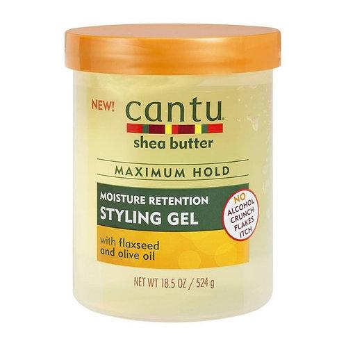 CANTU STYLING GEL 18.5 OZ FLAXSEED & OLIVE OIL