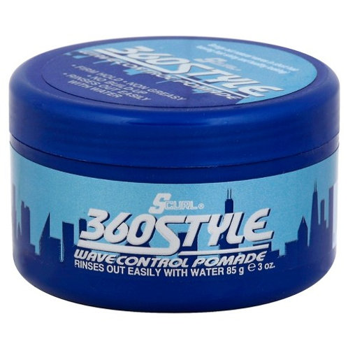 S CURL 360 STYLE WAVE POMADE 3 OZ