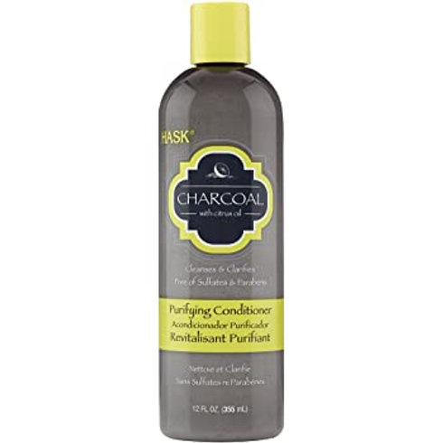 Hask Conditioner 12oz Clarifying Charcoal