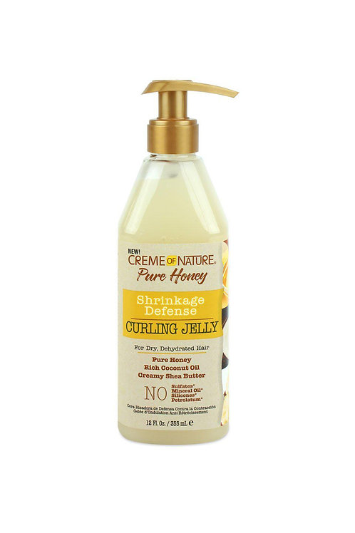 CREME OF NATURE PURE HONEY 12 OZ CURLING JELLY
