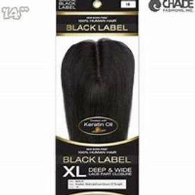 BLACK LABEL XL DEEP & WIDE LACE PART CLOSURE
