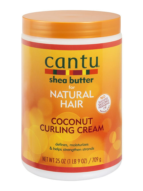 CANTU NATURAL HAIR COCONUT CURLING CREAM 25 OZ SALON SIZE