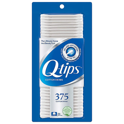 Q-TIPS COTTON SWABS 375ct