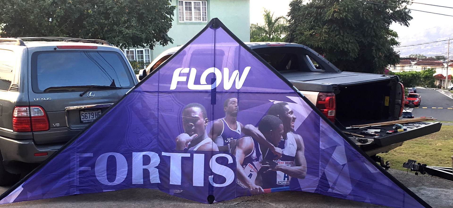 Custom Ad-Kite - Flow.Fortis