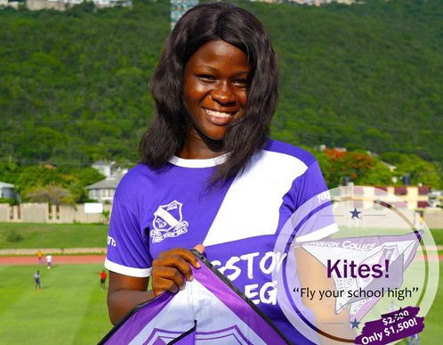 KC Supporter with kite
