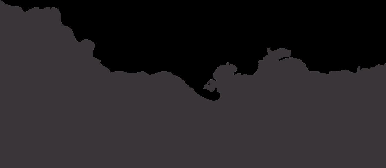 Silhouette of Jamaica map