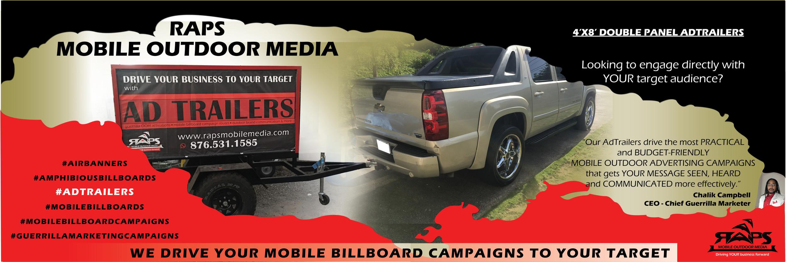 OOH Media | RAPS Mobile Outdoor Media | outdoor advertising
