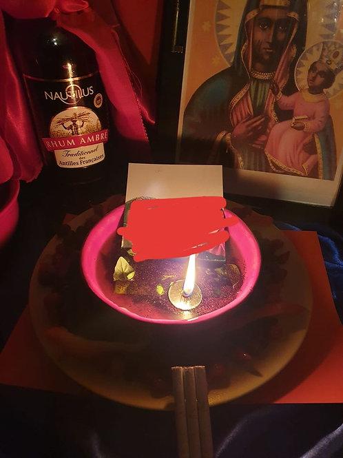 Lampe Vaudou personnalisée (selon vos besoins)