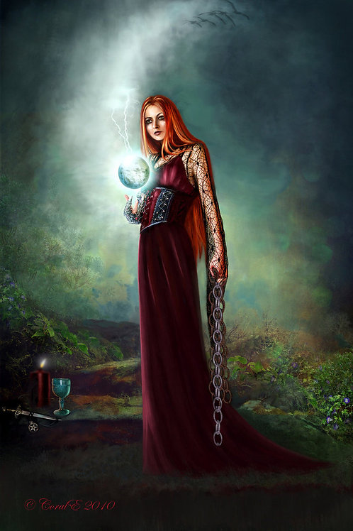 """Aradia """"Reine des sorcières"""""""