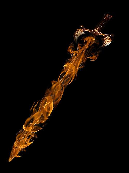 Harmonisation à l'épée de flammes de Brighid
