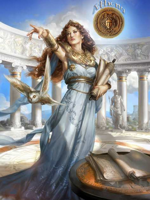 Athéna rayon de sagesse