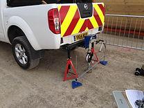 CBR testing (On-site plunger method)