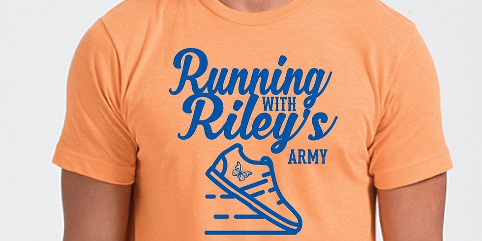 Running With Riley's Army Virtual 5k 2021-Triangle Chapter