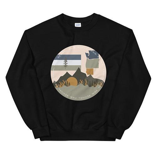 Unisex PNW Revival Fire Sweatshirt