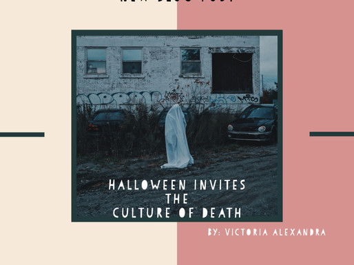 Halloween Invites the Culture of Death