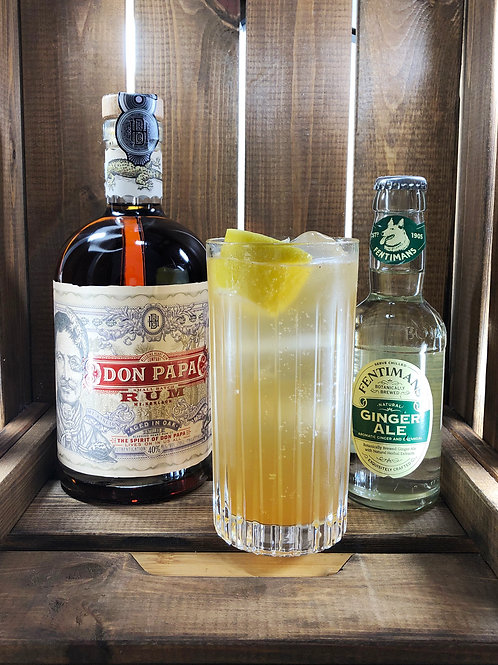 Prepara Don Papa Highball Chai / Incluye Don Papa + 4 botellines GRATIS