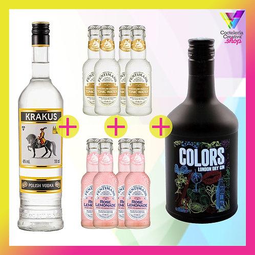 Pack Salvavidas ¡Yo vodka tu gin o viceversa!