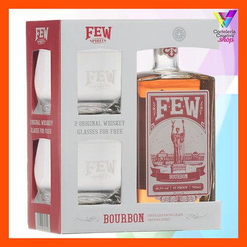 FEW Bourbon Whiskey pack regalo