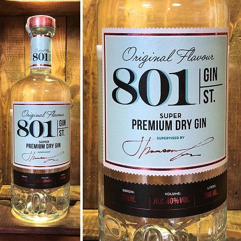 801 Gin St. - Premium Dry Gin