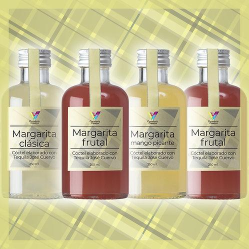 Cóctel Margarita / Pack 4 botellines