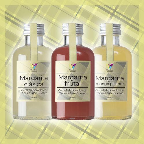 Cóctel Margarita / Pack 3 botellines