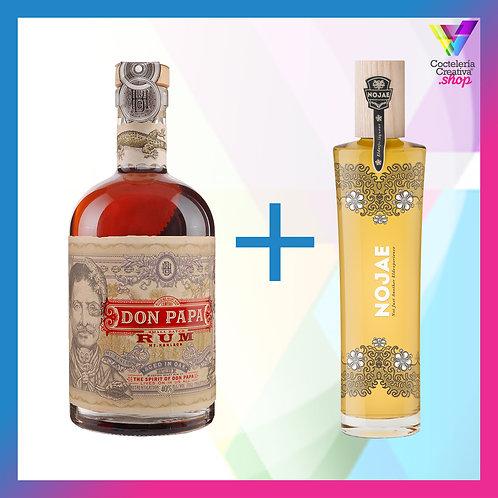 Prepara Don Papa Saúco Sour / Incluye Don Papa + Licor NOJAE