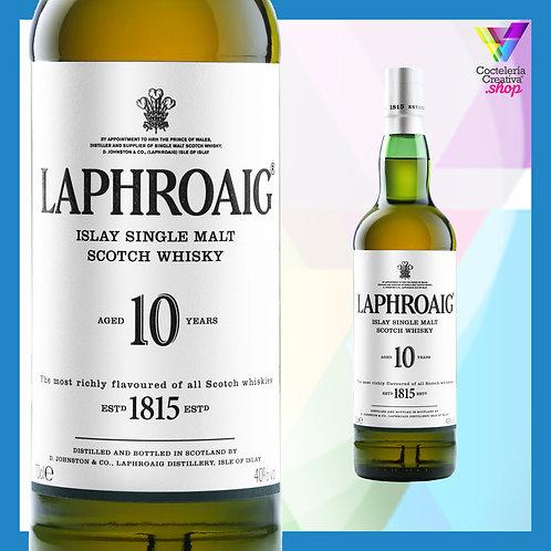 Laphroaig 10 años - Islay single malt Scotch whisky