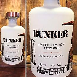 Bunker London Dry Gin -  Ginebra artesanal