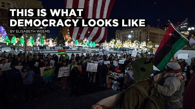 This Is What Democracy Looks Like And >> This Is What Democracy Looks Like The Vindicator