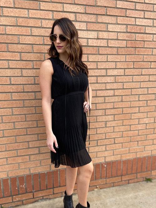Feeling Sassy Black Dress