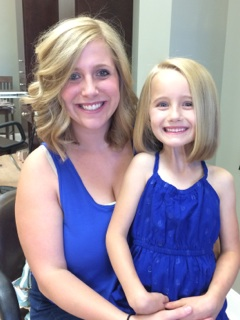Mommy & Daughter Donate Their Hair