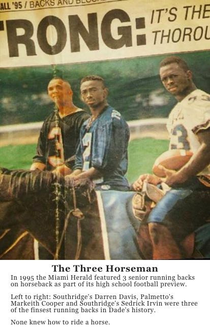Miami Herald HS football preview 1995