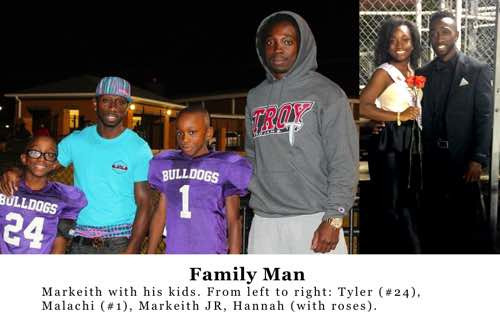 Markeith Cooper and his family