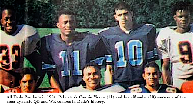1994 All Dade Football Offense: Connie Moore and Ivan Mandel