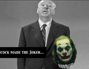 What if Alfred Hitchcock made Joker?
