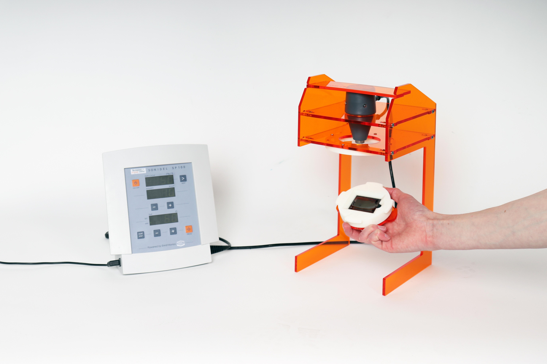 Sonoporator Fixture