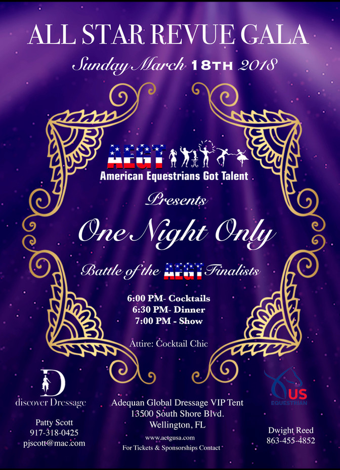 American Equestrians Got Talent is back: One Night Only All Star Gala Event