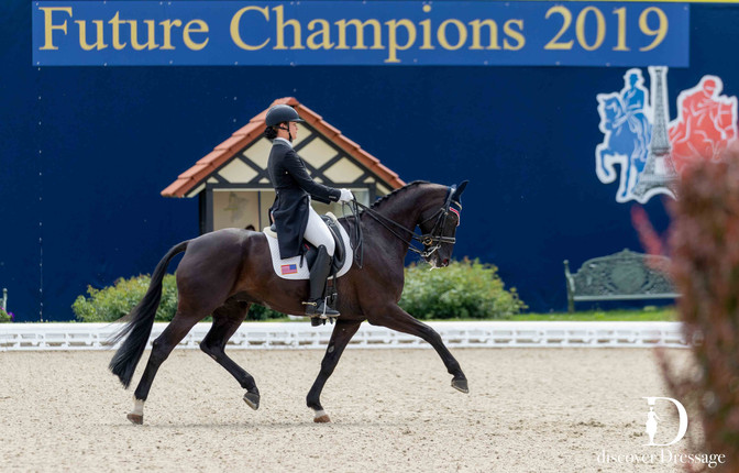 Dressage European Young Rider Tour Earns Top-Five Finish at Future Champions Hagen CDIO-Y