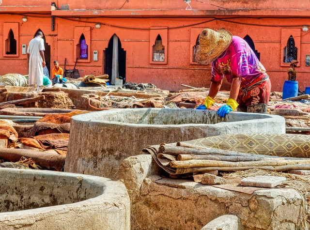 leather-tanning-morocco
