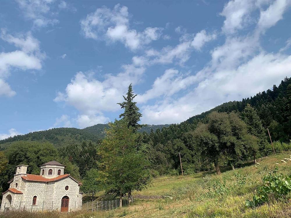 karpenissi-stone-church