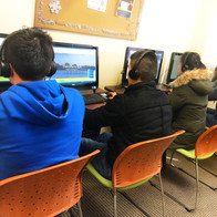 At ILA, we have a computer lab for students to use as they please.