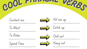 ILA Study Tip May 10th - Cool Phrasal Verbs