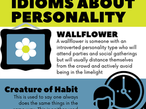 ILA Study Tip - Idioms about personality