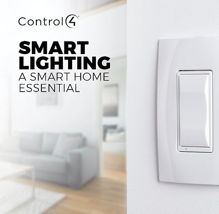Control4 Lighting Smart Home Essentials.