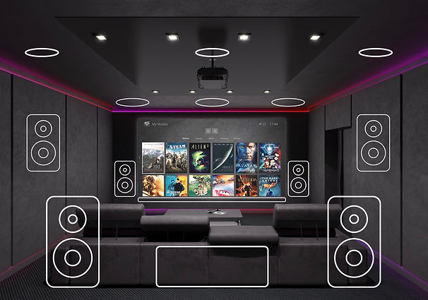 Control4 Home Theatre Nisi Group Melbour