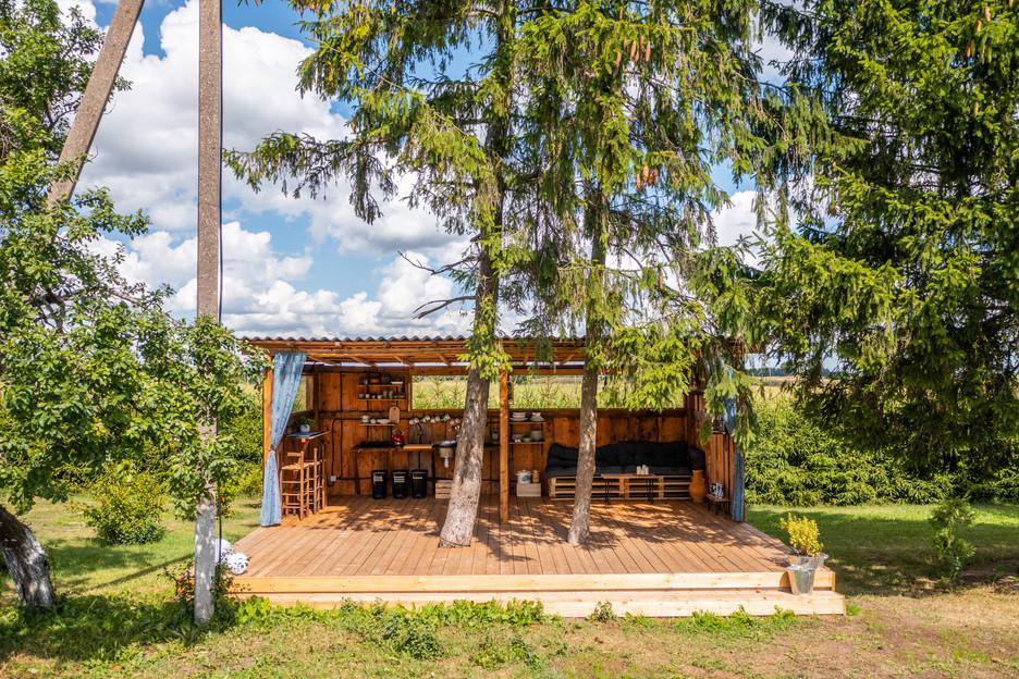 Casa de campo lauko virtuvėlė