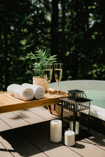 Atokampio vakarinis namelis - ofūro vonia