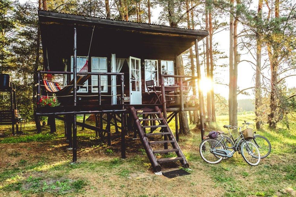 Varėna Tree house, East namelis