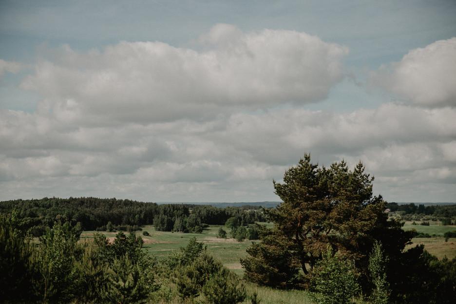 Etno Hut - vaizdas iš terasos