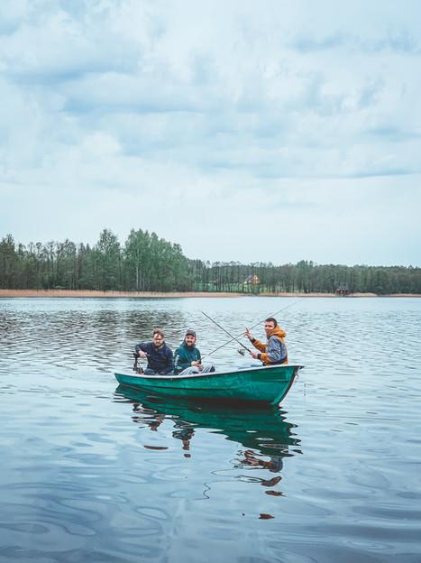 Asalnų stovyklavietė - ežeras